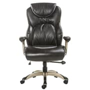 Merax High-Back Leather Executive Office Chair; Brown