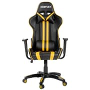Merax High-Back Leather Executive Office Chair; Yellow