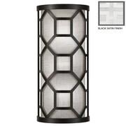 Fine Art Lamps Black + White Story 2-Light Wall Sconce; Studio White Satin
