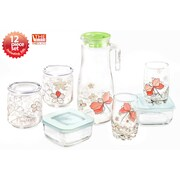 The Glass 12 Piece Water/Juice Glass Set