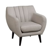 A&J Homes Studio Retro Styled Arm Chair; Beige