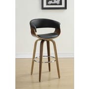 Wildon Home   39.75'' Bar Stool; Black