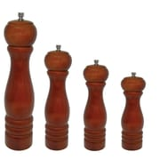 Update International Semi-Gloss Wood Pepper Mill; 8'' H x 2.25'' W x 2.25'' D