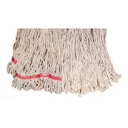Update International Looped End Mop Head; 16'' L x 6'' W