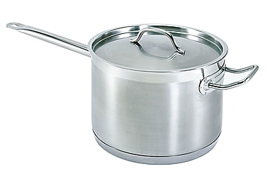 Update International Super Steel Sauce Pan; 4.5 Qt WYF078278712349