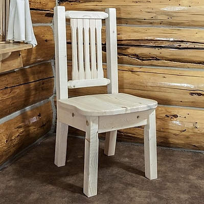Montana Woodworks Homestead Side Chair; Ready to Finish WYF078278714286