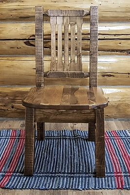 Montana Woodworks Homestead Side Chair; Stain & Lacquer Finish WYF078278714287