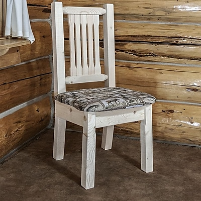 Montana Woodworks Homestead Side Chair; Ready to Finish WYF078278714289
