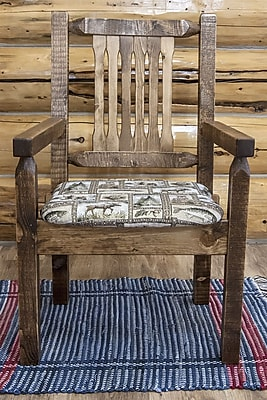 Montana Woodworks Homestead Captain's Arm Chair; Stain & Lacquer Finish WYF078278714299