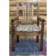 Montana Woodworks  Homestead Captain's Arm Chair; Stain & Lacquer Finish