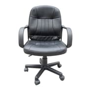 HomCom Mid-Back Office Chair with Arms
