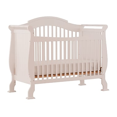 Stork Craft Valentia Stages 4-in-1 Crib, White, (AD904587-251)