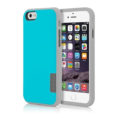 Incipio Phenom The Ultimate in Drop Protection Case for iPhone 6, Blue/Gray/Dark Gray, (IPH1186BLUGRY)