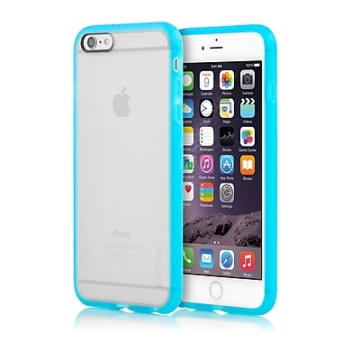 Incipio Octane Co-Molded Impact Absorbing Case for iPhone 6 Plus, Frost/Cyan, (IPH1216FRSTCYN)