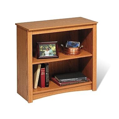 Prepac™ 2 Shelf Bookcase, Oak