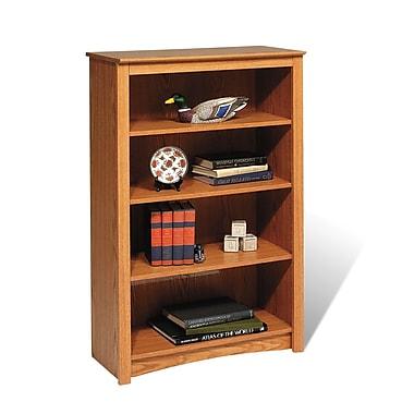 Prepac™ 4 Shelf Bookcase, Oak