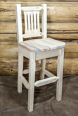 Montana Woodworks Homestead 30'' Bar Stool; Ready to Finish WYF078278733778