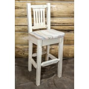 Montana Woodworks  Homestead 30'' Barstool; Ready to Finish