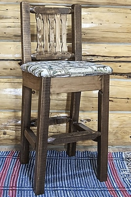 Montana Woodworks Homestead 30'' Bar Stool; Stain & Lacquer Finish WYF078278733782