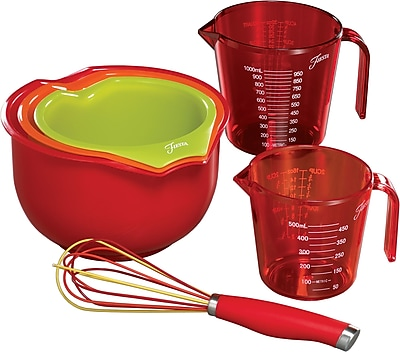 Fiesta 6 Piece Mix & Measure Set WYF078278733639