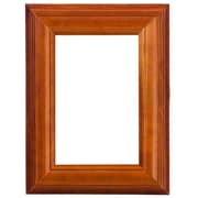 Sweet Home Collection Solid Wood Picture Frame (Set of 2); Walnut
