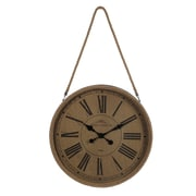 Privilege Hanging Wall Clock with Rope