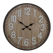Privilege 31.5'' Round Wall Clock