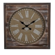 Privilege Square Wall Clock