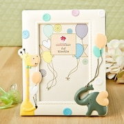 FashionCraft Adorable Giraffe and Elephant Baby Picture Frame