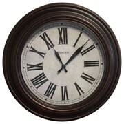 Westclox 20'' Roman Numeral Wall Clock
