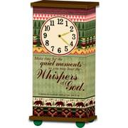 Imagine Design Treasured Times Whispers Christian Clock
