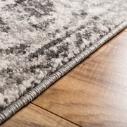 Well Woven Sydney Sheffield Traditional Gray Area Rug; 7'10'' x 10'6''