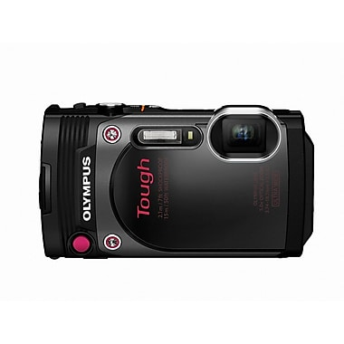Olympus Tough TG-870 Digital Camera, 5x Optical Zoom, 16MP, Black