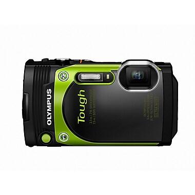 Olympus - Appareil photo numérique Tough TG-870, zoom optique 5x, 16 MP, vert