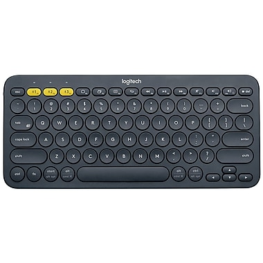 Logitech 920-007558 K380 Multi-Device Bluetooth Keyboard, Dark Grey