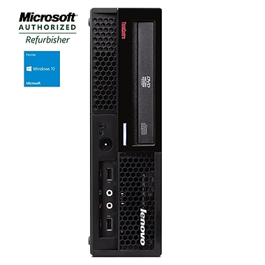 IBM Lenovo Refurbished Desktop (M58 USFF), Intel Dual Core, 4GB RAM, 500GB HDD, DVD-Rom, Win 10 Home, English