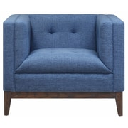 TOV Gavin Arm Chair; Blue