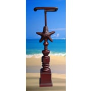 Hickory Manor House Free Standing Starfish Freestanding Toilet Paper Holder; Antique Red