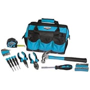 Viper Tool Storage 30 Piece Tool Set with Bag; Blue