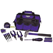 Viper Tool Storage 30 Piece Tool Set with Bag; Purple