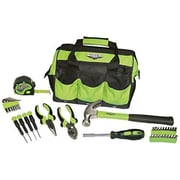 Viper Tool Storage 30 Piece Tool Set with Bag; Green