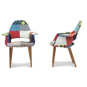 Wholesale Interiors Baxton Studio Forza Arm Chair (Set of 2)