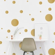 Dana Decals 48 Piece Multi-Size Polka Dots Wall Decal Set (Set of 48)