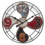 """Infinity Instruments 15.75""""  Wall Clock, Fan of Clock (15174)"""