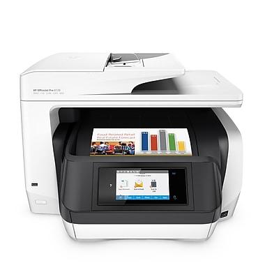 HP - Imprimante jet d'encre couleur tout-en-un sans fil recto verso Officejet Pro 8720