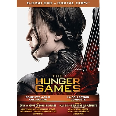 The Hunger Games: Complete 4 Film Collection (DVD)