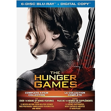The Hunger Games: Complete 4 Film Collection (Blu-ray)