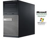Dell Optiplex (390) Refurbished Desktop, Intel Core i3 2100 (3.1Ghz), 6GB RAM, 750GB HDD, Windows 7 Pro