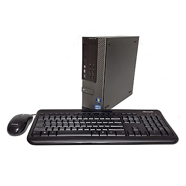 Dell Optiplex (790 SFF) Refurbished Desktop, Intel Core i5-2400, 3.1 GHz, 4GB RAM, 500GB HDD, Windows 7 Professional
