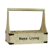 Antique Revival Napa Living 8 Bottle Wine Holder